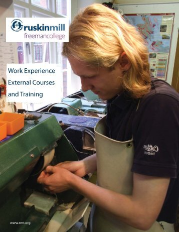 Work Experience External Courses and Training
