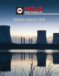 Elastomer Expansion Joints - Holz Rubber Company, Inc.