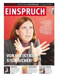 VOR IHR IST KEIN STEIN SICHER! - Neue Welt Verlag