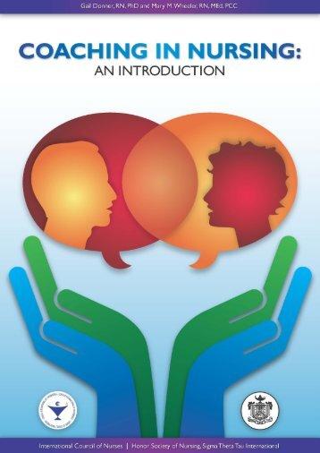 Coaching in Nursing Workbook PDF - Sigma Theta Tau International ...