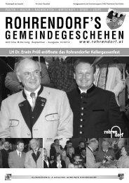 Gemeindezeitung 10/2012 - Rohrendorf bei Krems