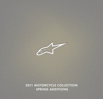 2011 MOTORCYCLE COLLECTION SPRING ADDITIONS