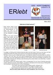 Download - Nr. 59 - März 2013 als PDF-Datei - Geistliche Gemeinde ...