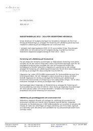 Budgetunderlag_SH_ 2012_2014.pdf - Södertörns högskola