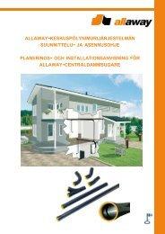 Allaway keskuspölynimurijärjestelmän suunnittelu- ja asennusohje