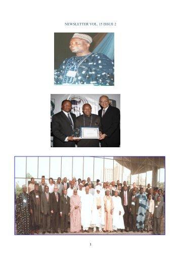 newsletter vol. 15 issue 2 - AAU Resource Center - Association of ...