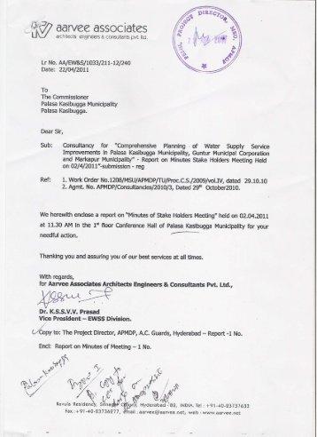 Stake Holders Meeting_Palasa Kasibugga - Andhra Pradesh ...