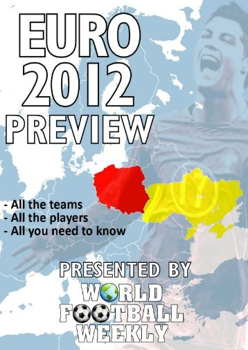 Euro 2012 Preview - WORLD FOOTBALL WEEKLY