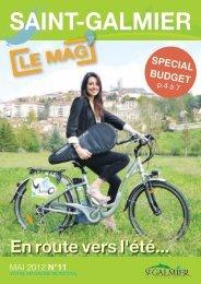 Le Mag n°11 - Mai 2012 - Site officiel - Mairie de Saint-Galmier