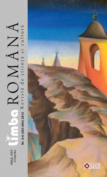 Basarabia - Limba Romana