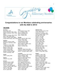 Congratulations to our Members celebrating anniversaries with the ...