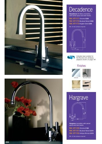 Classic Taps Pages 130 - Raymac Kitchens