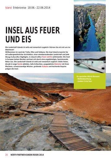 Erlebnisreise Island (PDF) - Würth