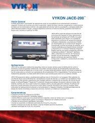 VYKON JACE-200™ - Tridium