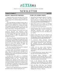 Volume 24, Number 2 April 2012 - UTIA!