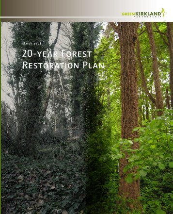 20-year Forest Restoration Plan - City of Kirkland