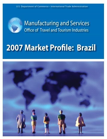 Brazil - Tourism Industries - Department of Commerce