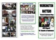 workington matters 2010 report to tenants - Impact Housing ...