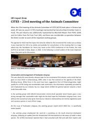 CITES – 23rd meeting of the Animals Committee - Ornamental Fish ...