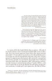 Introduzione Lo storico delle idee Isaiah Berlin disse un ... - Einaudi