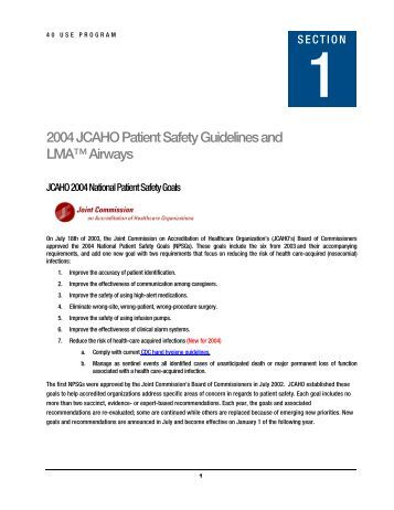 Clinical & Quality Archives - HealthTechS3 |Patient Safety Standards Jcaho Policies