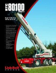 Rough Terrain Crane 100-ton - Link-Belt Construction Equipment