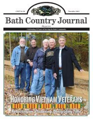 Bath Country Journal - ScripType Publishing