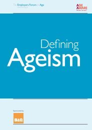 Defining ageism - Employers Forum on Age