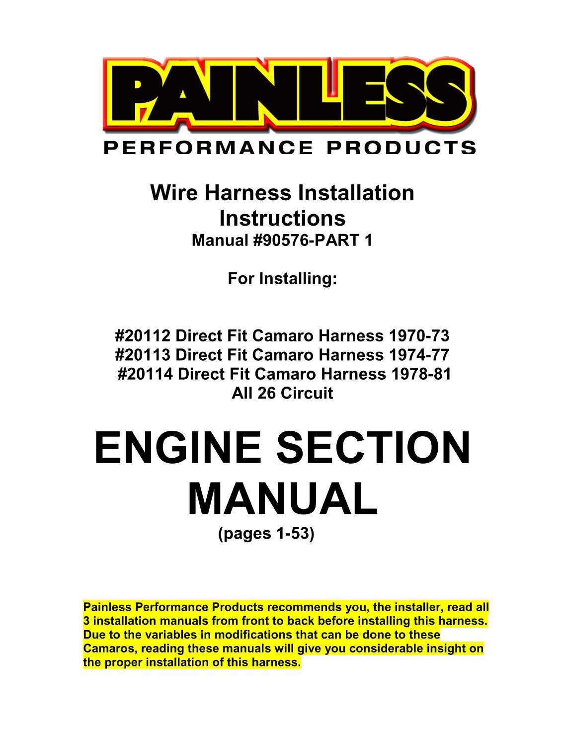 100 Free Magazines From Painlesswiringcom Painless Wiring Harness And Chassis