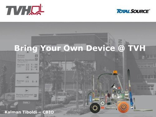Bring Your Own Device @ TVH - Minoc