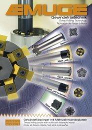 10 für große Abmessungen ab Gewindedurchmesser 24 mm - Emuge