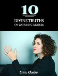 10 Divine Truths for Working Artists