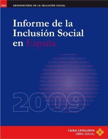 informe inclusion social 2009
