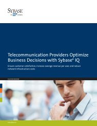 to view the complete document (PDF - Sybase