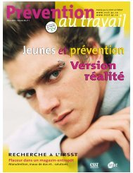 Jeunes et prévention : version réalité - CSST