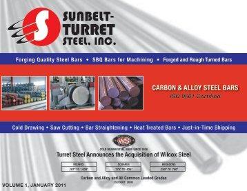 CARBON & ALLOY STEEL BARS - Sunbelt-Turret Steel