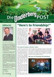 Service line 0049 - Underberg