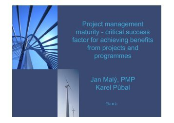 critical success factor for achieving benefits from projects and ... - EOQ