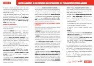 drets i garanties de les persones que representen els treballadors i ...