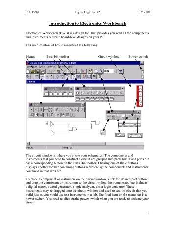 Electronic Workbench Multisim