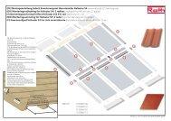 (DE) Montageanleitung Indach Erweiterungsset übereinander ... - Roth