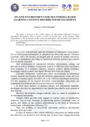 on-line environment for multimedia-based learning content ...