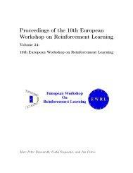 Proceedings of the 10th European Workshop on Reinforcement ...