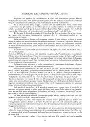 archiati - dal cristianesimo al cristo - cap. 2.pdf - Libera Conoscenza