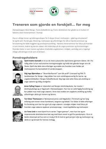 Sjekk når møtet er hos deg - Norges idrettsforbund