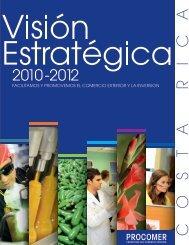 Visión Estratégica 2010-2012 - Procomer