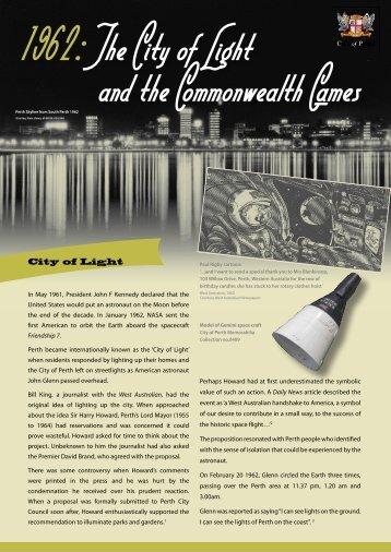 City of Light - City of Perth