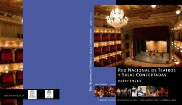Red Nacional de Teatros y Salas Concertadas - Ministerio de Cultura