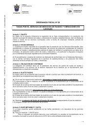 Tasas Medición de ruidos - Ayuntamiento de Etxebarri