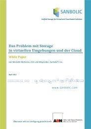 Das Problem mit Storage in virtuellen Umgebungen und ... - Sanbolic